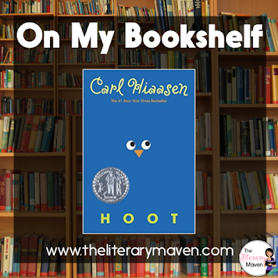 In Hoot by Carl Hiaasen, Roy is the new kid at school barely surviving the efforts of the school bus bully to crush him, until he spots a boy his age running barefoot one day. Roy is determined to find the boy and find out what he's running from. When he does find out, Roy becomes involved in a battle to preserve the habitat of burrowing owls. Read on for more of my review and ideas for classroom application.