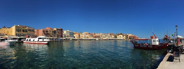 Coastline of Chania, Crete