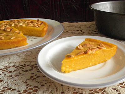Bingka Labu/Baked Pumpkin Cake Recipe @ http://treatntrick.blogspot.com