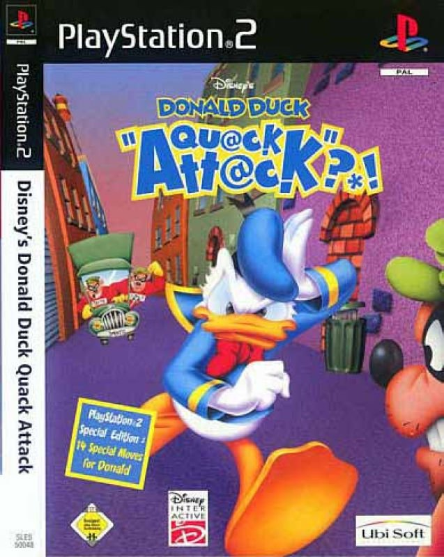 Donald%2BDuck%2BQuack%2BAttack - Donald Duck Quack Attack | Ps2