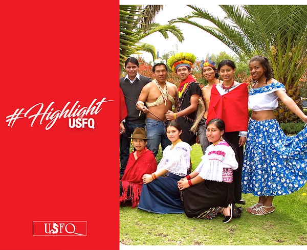 Los Dragones del Programa de Diversidad Étnica se toman la USFQ