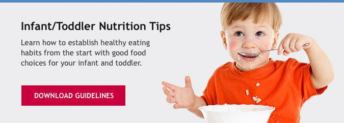 Infant/Toddler Nutrition Tips
