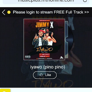 Please kindly support Jimmy X by liking his song in on going MTN project Fame 9 songs competition