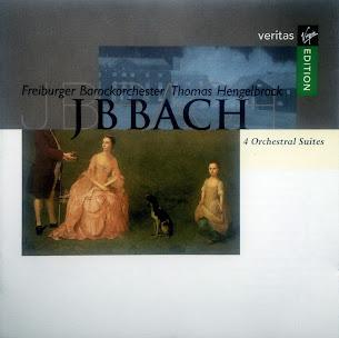 Bach, Johann Bernhard: 4 Orchestral Suites