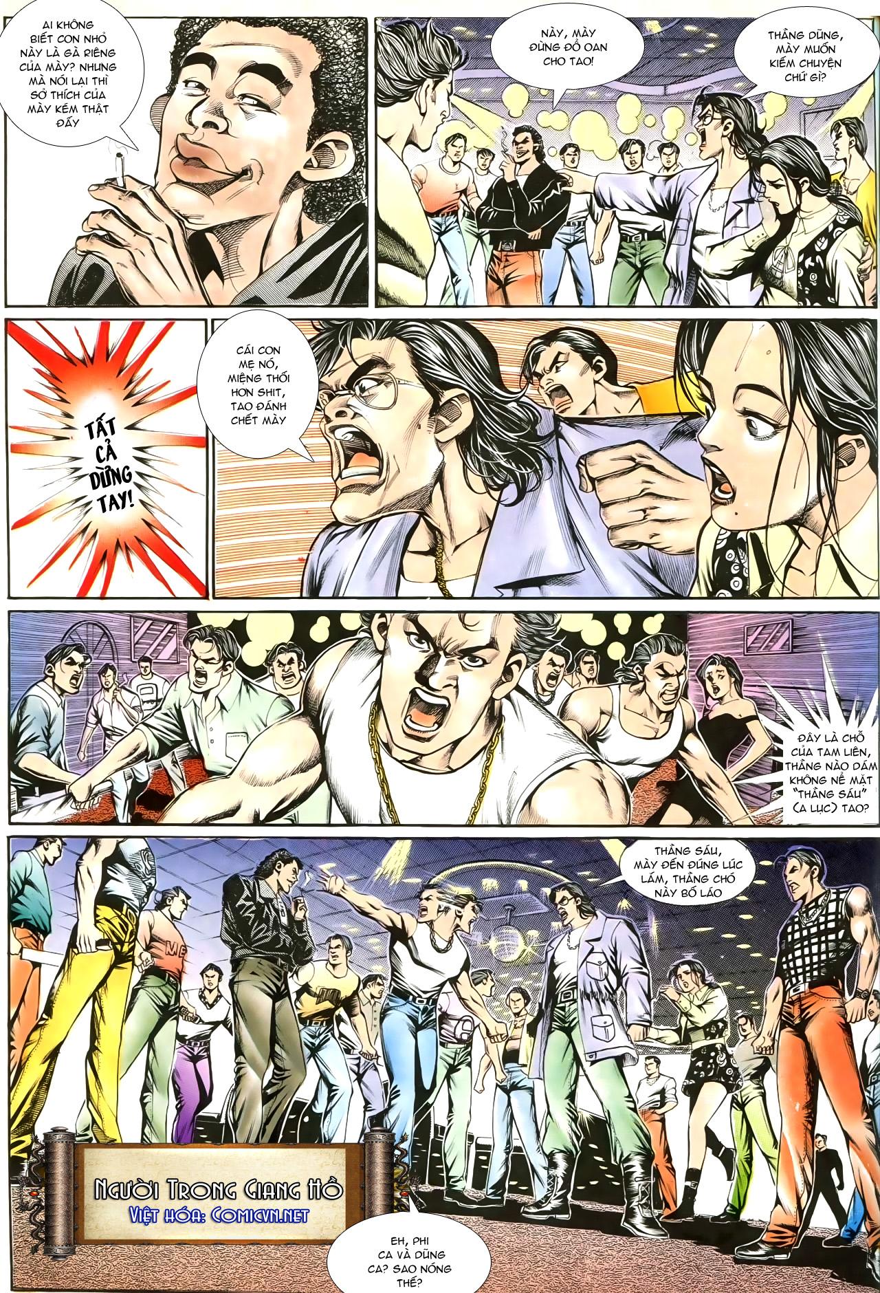 Người Trong Giang Hồ chapter 191: thiên thu tái hiện trang 4