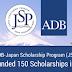 The Asian Development Bank/Japan Scholarship Program (JSP) 2017- Fully-Funded