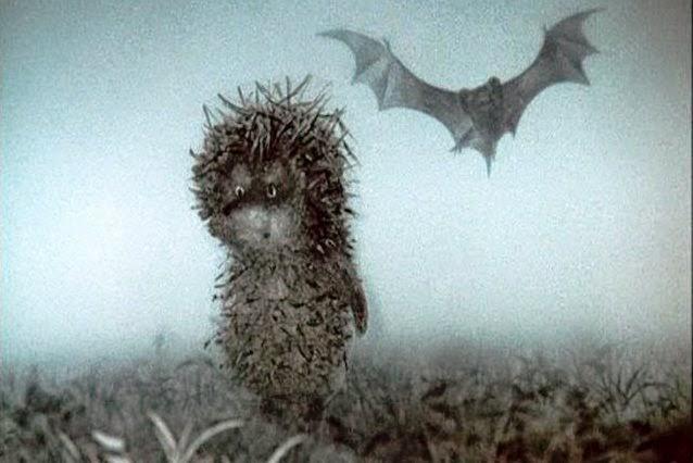 Ежик в тумане анимация картинки