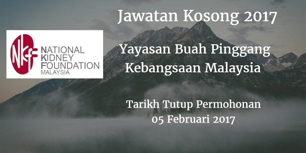 Jawatan Kosong NKF 05 Februari 2017