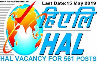 HAL Trade Apprentices Recruitment 2019