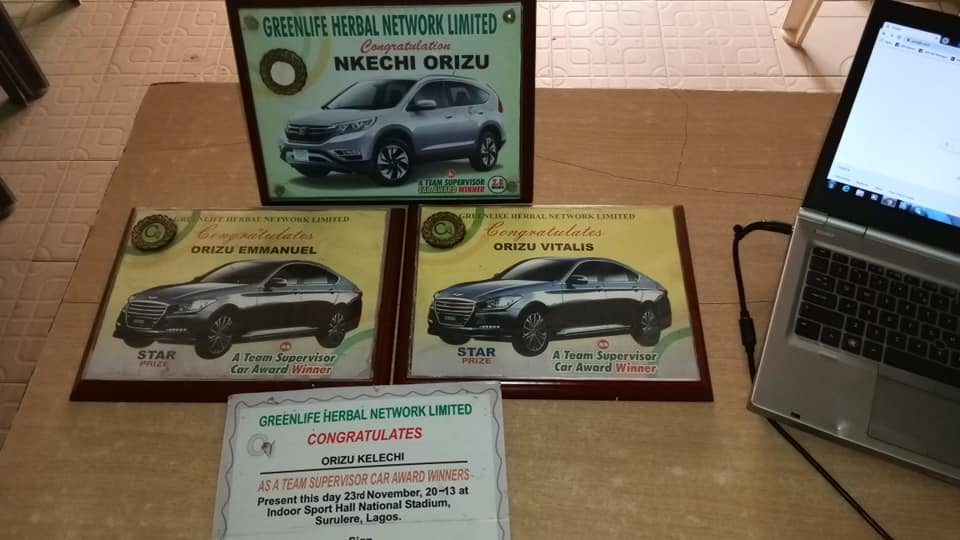 5 Car Awards about ₦2,800,000 each