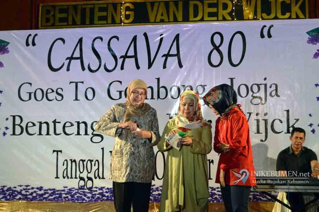 Gelar Reuni di Benteng Van Der Wijck Gombong, Cassava 80 Bantu Promosi Wisata Kebumen