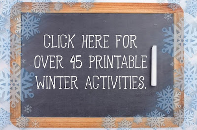 printable winter activities for kids