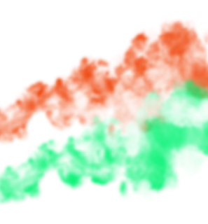 Tricolor smoke png