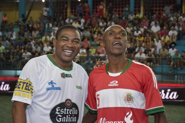 César Sampio do Palmeiras e Simão do Barretos