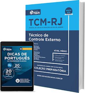 Apostila Concurso Tribunal de Contas do Município do RJ - TCMRIO 2016