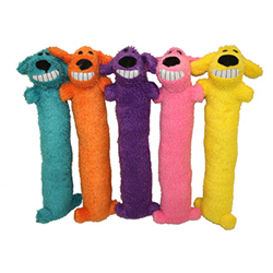 Multipet Loofa Dog Plush Toy