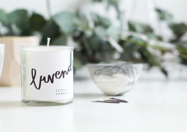 DIY velas aromáticas e imprimibles gratis