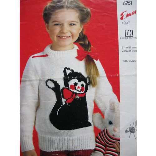 d161e70fa http   www.ebid.net uk for-sale patons-knitting-pattern-1117-childs- cardigans-cat-yacht-motif-22-26-147552194.htm