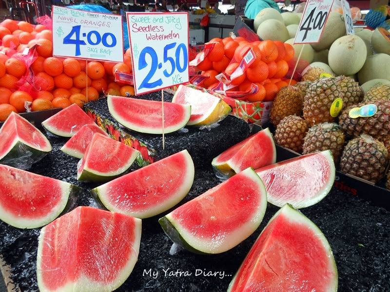 Watermelon Fruit at Queen Victoria Market, Melbourne