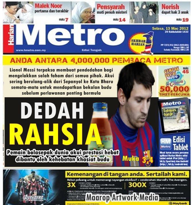 Ngerepak is Caring: Harian Metro