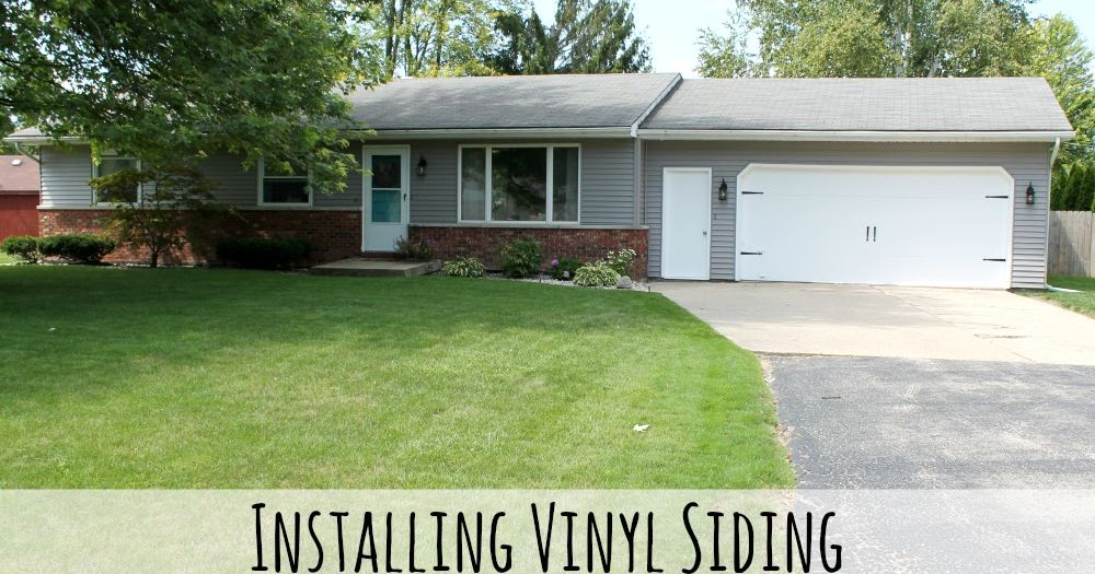 Making It In The Mitten Exterior Update With Vinyl Siding
