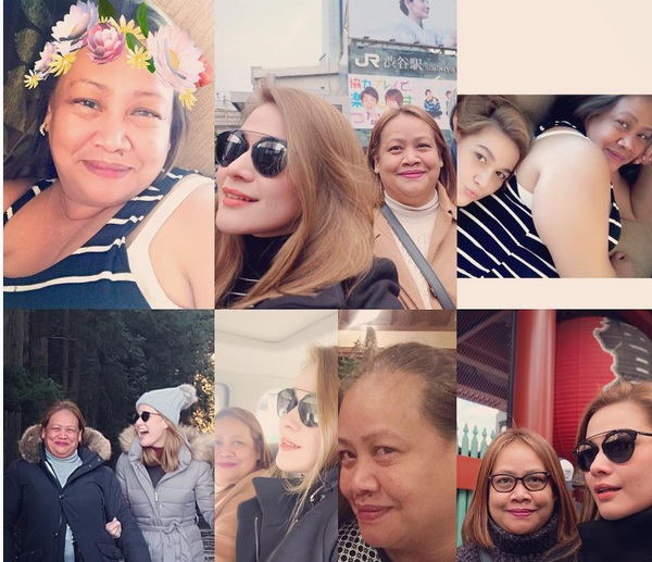 Filipino celebrities pay tribute to their moms on Mother's ...