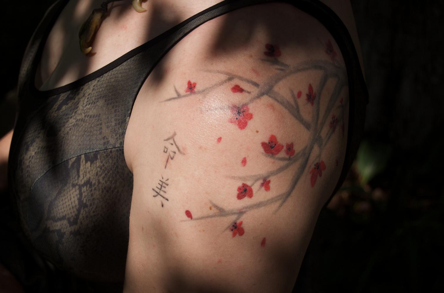 Cherry Blossom Tattoo: My Tattoo Designs: Cherry Tree Tattoo