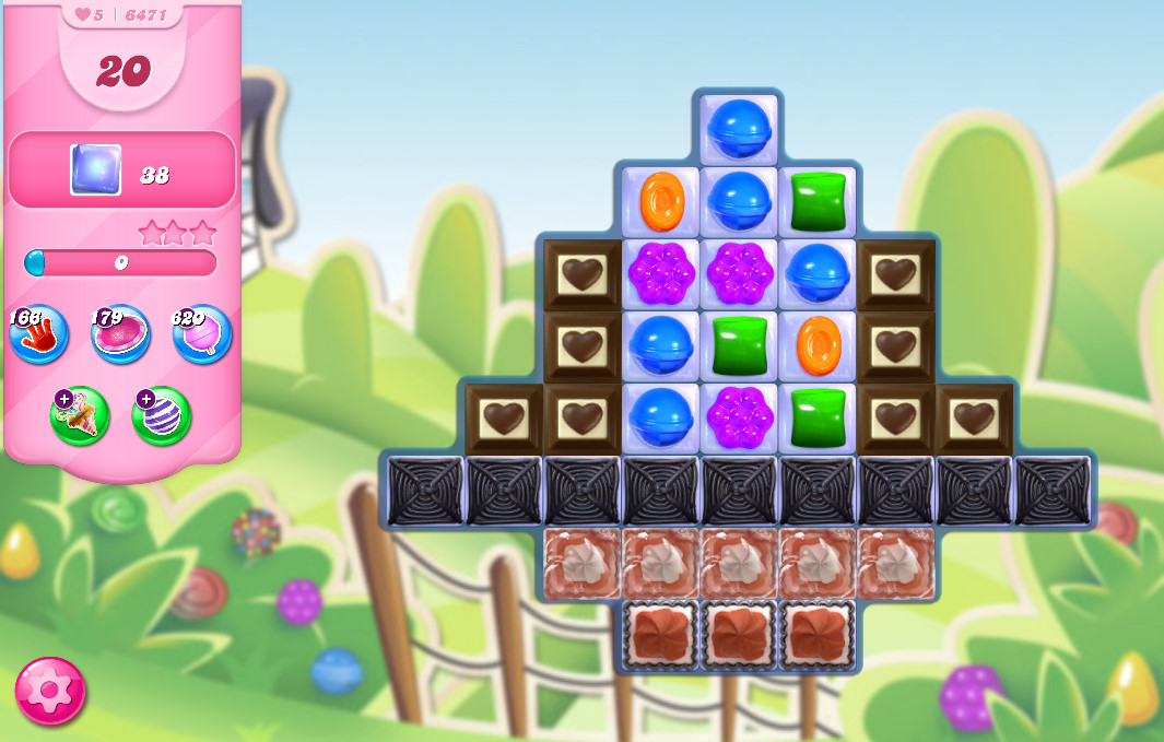 Candy Crush Saga level 6471