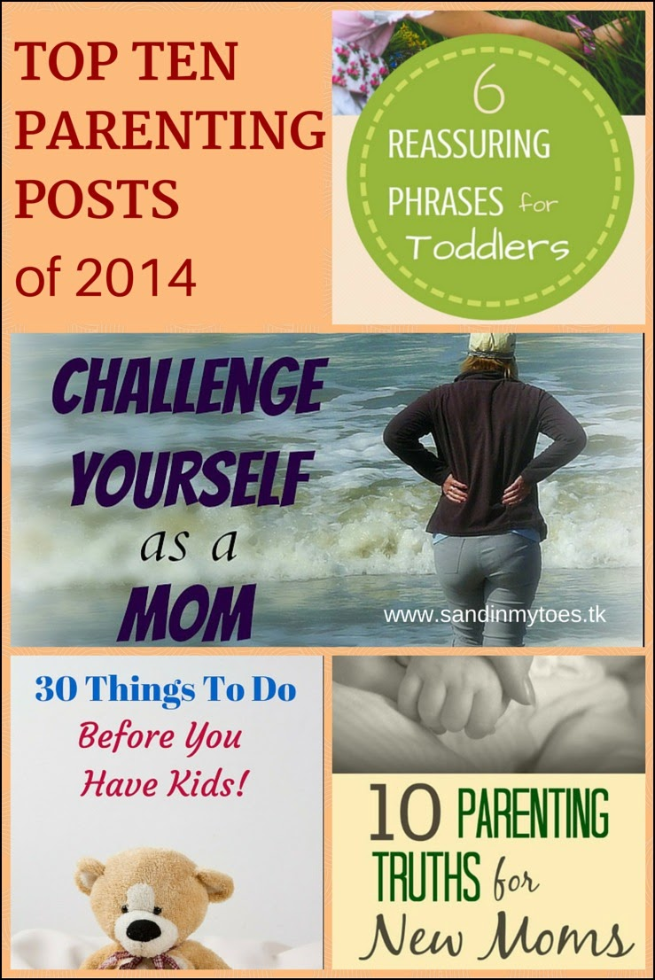 Top Ten Parenting Posts of 2014 - Sand In My Toes