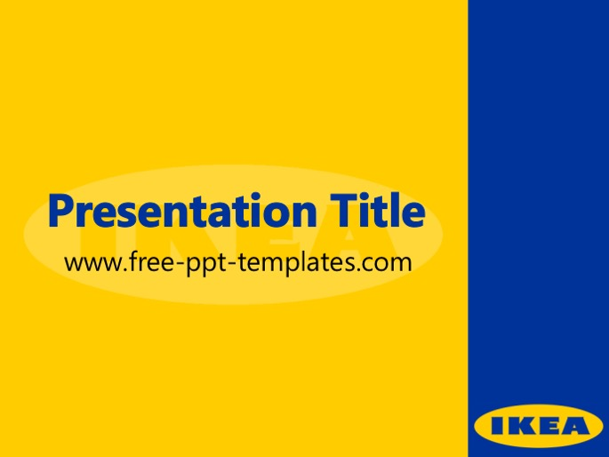 Ikea ppt template for Furniture 7 customer service