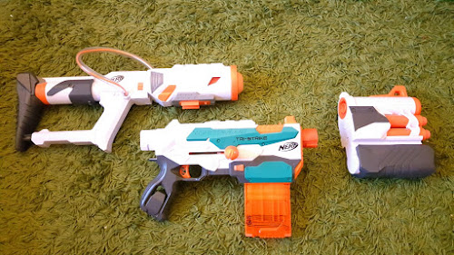 REVIEW: Nerf Modulus Tri-Strike | The Test Pit