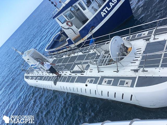 submarine tour Grand Cayman