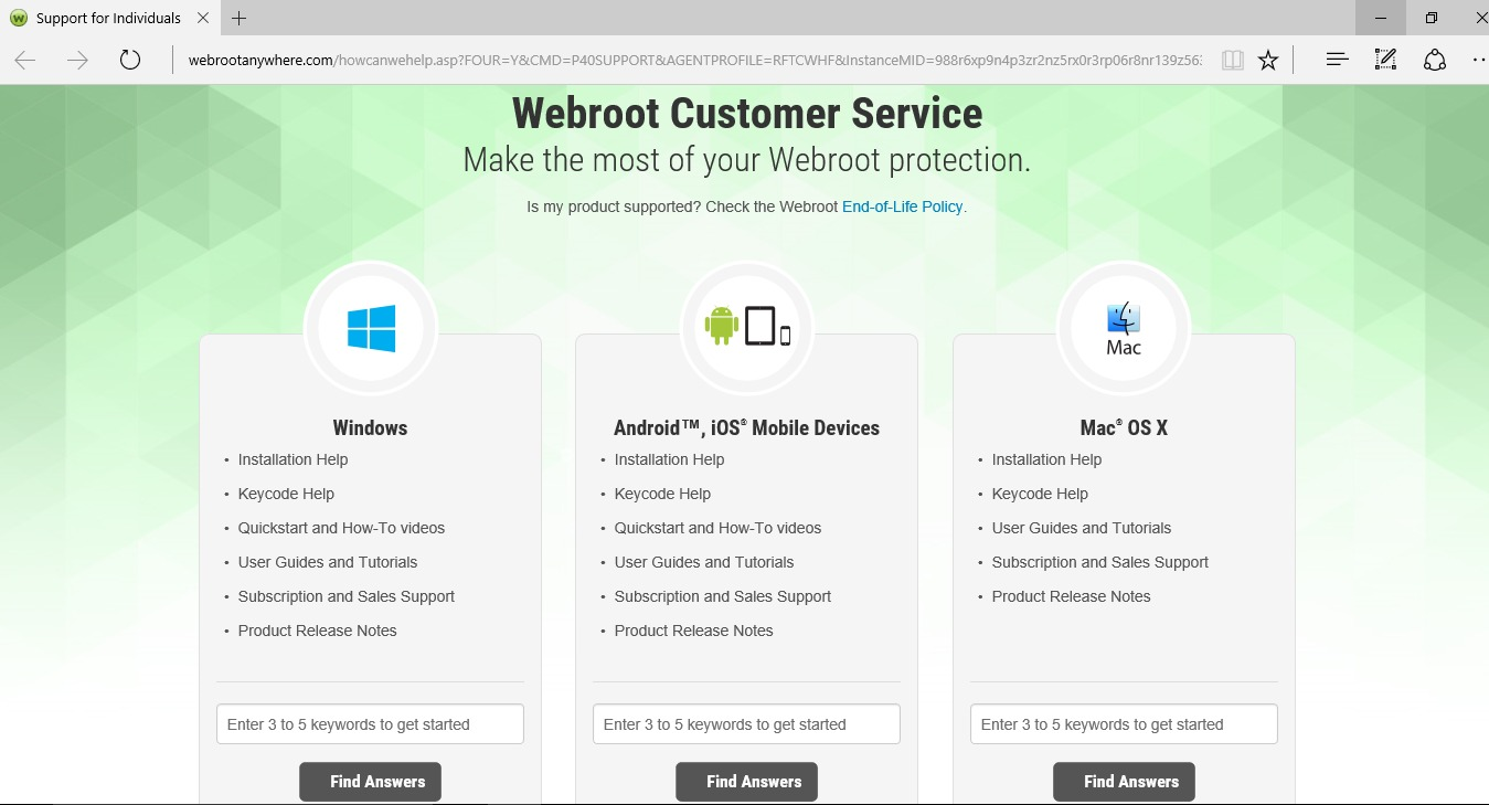 Webroot Smarter Cybersecurity The Future Is Now