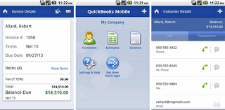 QuickBooks Mobile Android app released