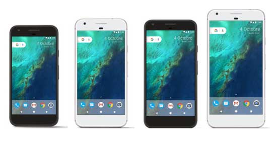2016 Google Pixel and Pixel XL leaked online