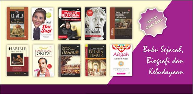 Buku Perpustakaan Desa - Buku Sejarah, Biografi dan Kebudayaan