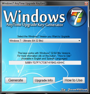 Win7 Ultimate Key