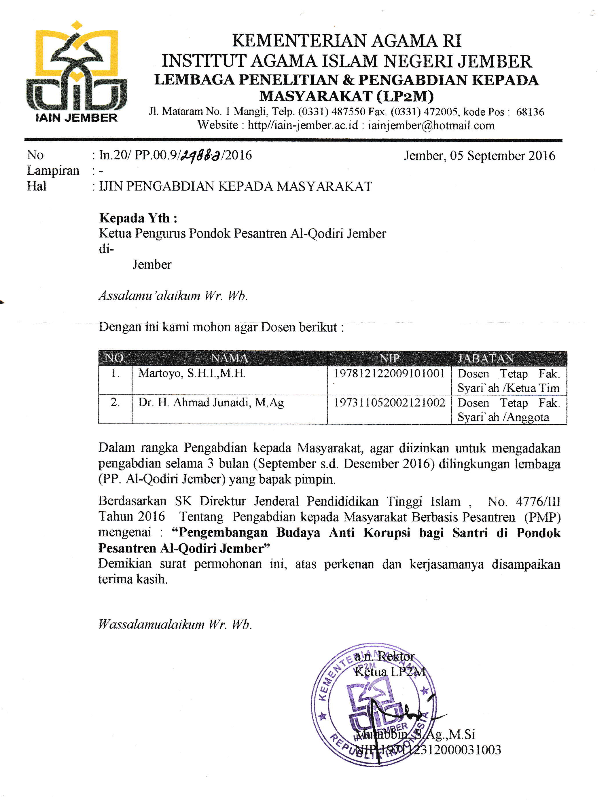 Contoh Surat Balasan Mr Fah Blog Bertemuco