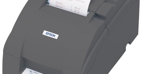 Epson TM-U220 Driver Download Windows, Mac, Linux - Epson