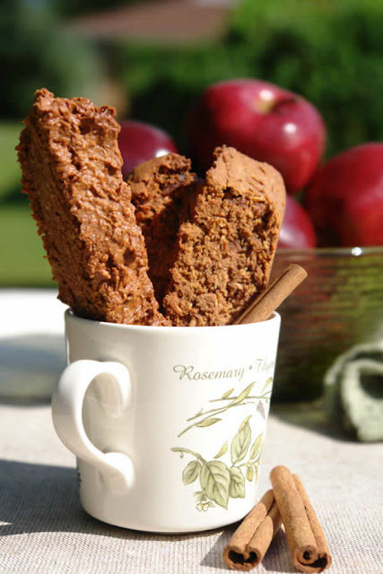 Gluten-Free Biscotti Recipe : Apple Cinnamon Variety