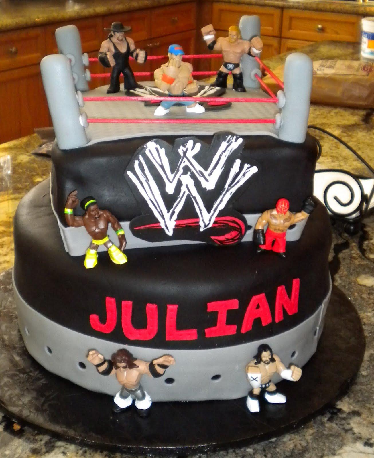 Dragonfly Desserts Wwe Birthday Cake