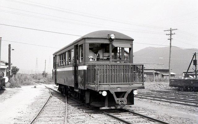 地方私鉄 1960年代の回想: 西大寺鉄道8 ボギー気動車キハ6