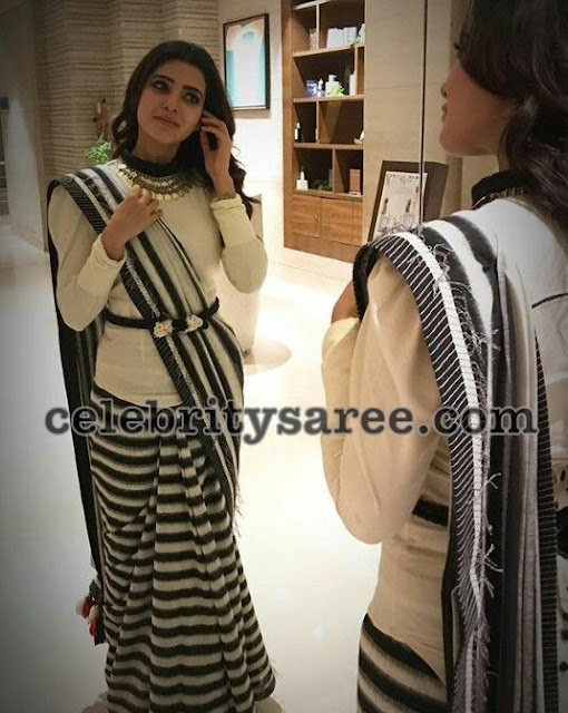 Samantha-akkineni-stylish-saree-drape1