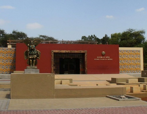 Museo de Sitio de Huaca Rajada - Sipán