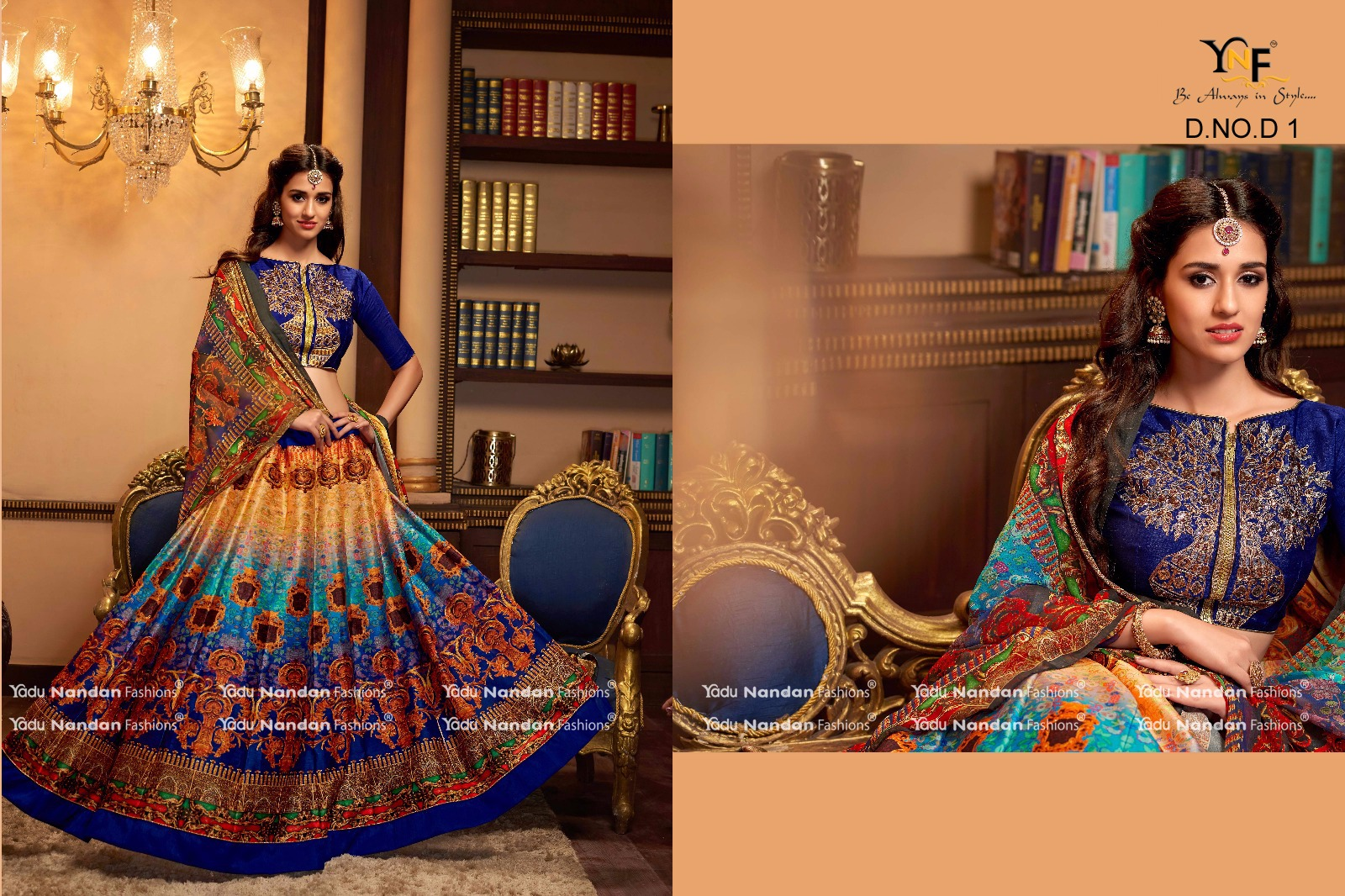 Naari – Latest New Digital Printed Lehenga Choli Buy Online