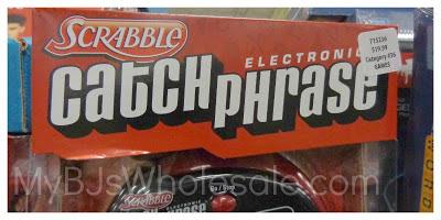 Scrabble Catch Phrase Just $17.99 at BJs