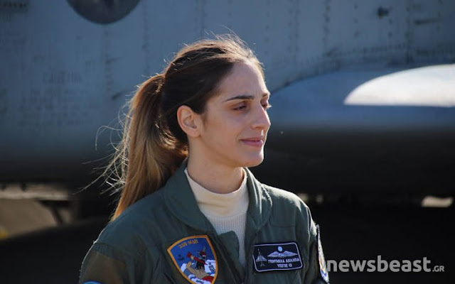 Η Ελληνίδα πιλότος Φάντομ που τράβηξε το ενδιαφέρον των διεθνών ΜΜΕ