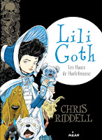 Lili Goth tome 3 de Chris Riddell
