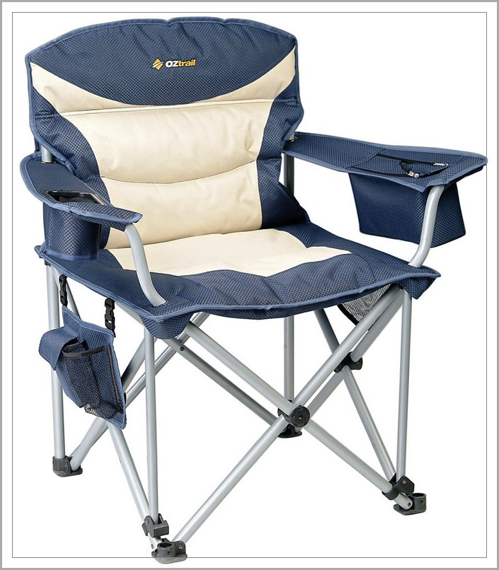 Home Design Ideas Oztrail Titan Blue Camping Chairs Design