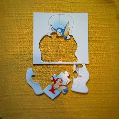 puzzle elementy układanka układanki dla malucha rozwija wyobraźnie puzzle dla dzieci dla chłopcó dla dziewczynek jednorożec ptaszek dla dzieci alexander bloger